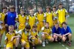 Drużyna piłki nożnej chłopców